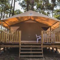 Rentals-Tente Lodge - camping dune du pyla arcachon bay PYLA